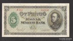 5 pengő 1926. EF+!!!  GYÖNYÖRŰ!!!