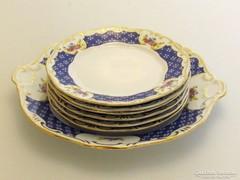 Zsolnay süteményes készlet(Pecs-R49245)