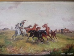 Anton Rudolf Derfla, olaj festmény,