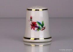 0L436 Hollóházi porcelán gyűszű