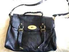 Mulberry eredeti sorszámozott full bőr Alexa táska