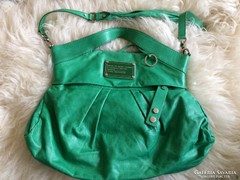 Marc Jacobs zöld BŐR női táska