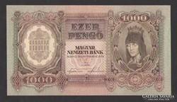 1000 pengő 1943.  UNC !!!