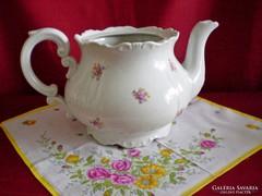 Régi Zsolnay nagy méretű tea kiöntő