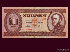 5000 FORINTOS - SZÉP ÁLLAPOTBAN 1993-BÓL