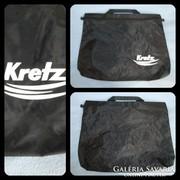 Fekete cipzáros iratartó/ laptoptartó táska
