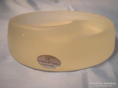 Súlyos opál üveg, tároló-levélnehezékÚ1