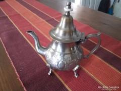 Antik ezüstözött barokk stílusú tea-kávékiöntő eladó!