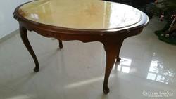 Chippendale  ovális asztal