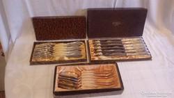 W.M.F. Nirosta kés villa kanál készlet dobozban