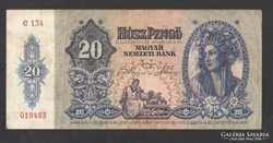 20 pengő 1941. NAGYON SZÉP!!!