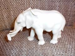Nagyon RITKA Ens porcelán elefánt figura