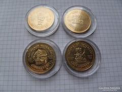 Októberfest trade dollár 1992,93, 94, 95. 4 db PP (3)