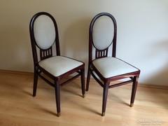 Szecessziós szék kárpitos art deco szék 1db 22000ft
