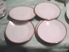 Zsolnay süteményes tányér   6 darab
