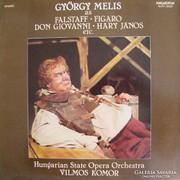 Melis György énekel bakelit lemez
