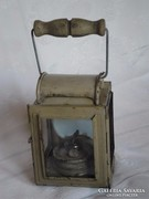 II vh. német tábori lámpa / bunker lámpa