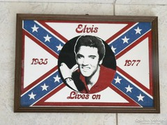 Elvis Presley falitükör,falidísz