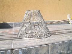 Desing gyöngy-fém lámpaernyő- búra