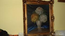 Antik Festmény Csendélet Doór Ferenc festőtől