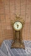 Tüzi aranyozott osztrák asztali óra