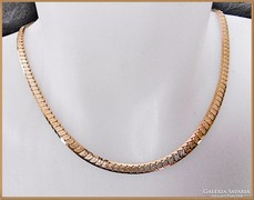 14 K - gold filled - nyaklánc 50 cm x 4 mm - uniszex