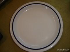 Zsolnay kék csíkos tányér