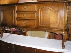 Chippendél barokk komod 145x45x76cm magas