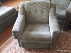 Retro zöld nappali ülőgarnitúra