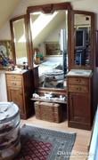 120 éves Szecessziós toalett tükör