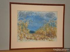 Szalmás Béla (1908-1961) : Kukoricás