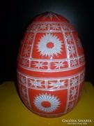 Üveg tojás ( nyitható )