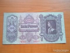100 PENGŐ 1930 CSILLAGOS E050 SOROZATSZÁM