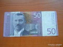 JUGOSZLÁVIA 50 DINÁR 2000