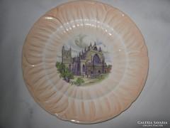 Jelzett porcelán tányér!