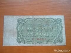 CSEHSZLOVÁKIA 5 KORONA 1961 TT