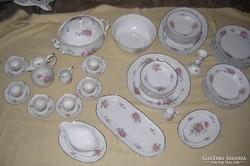 Hollóházi étkészlet és teás készlet