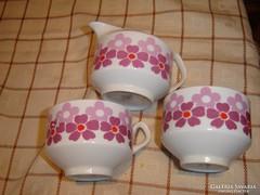 Spanyol csésze páros tejszinessel