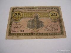 25 Centimes 1922 Toulon.