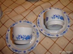 Csodaszép kávés csésze páros