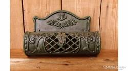 Antikolt fém postaláda