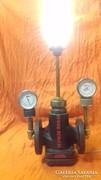 Steampunk industrial egyedi lámpa