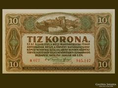 TÍZKORONÁS - ROPOGÓS 1920-BÓL