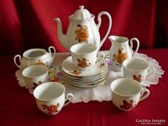 Arpo porcelán kávés készlet