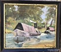 Vitéz Sashegyi Kálmán - Bárkák a folyón