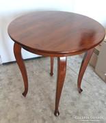 Neobarokk diófa asztal