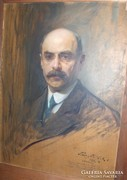 Philip de László: Emanuel Moór portréja