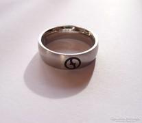 Zoppini férfi acél karika gyűrű