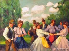 PAROBEK ALAJOS (1896-1947): SZABADBAN