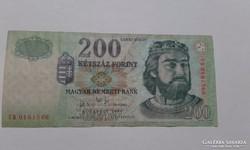 200 ft 2004-es ropogós bankjegyek!